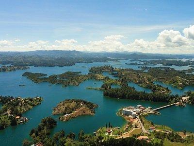 Guatape Tour - Lagoon